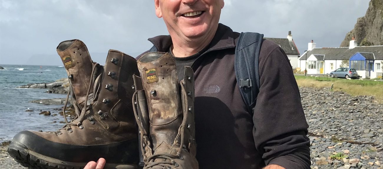 Easdale branch's Willy Munro takes a 25-mile wander