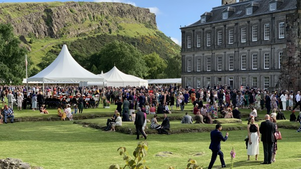 Royal Garden Party Edinburgh