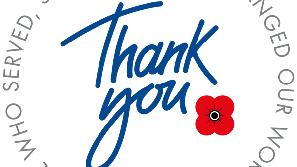 Royal British Legion Scotland says Thank You