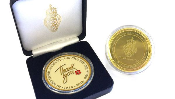 Royal British Legion Scotland Thank You Coin